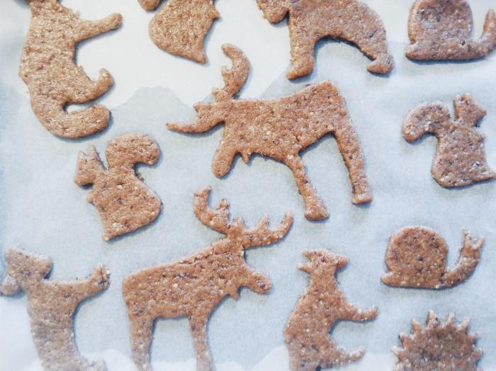 animal shaped cookies