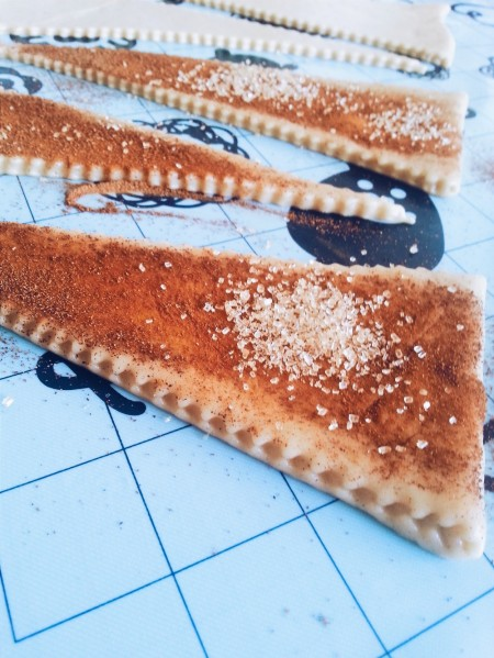 cinnamon vegan croissants