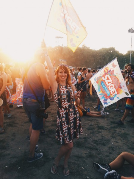 sziget flag party ootd
